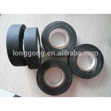 Ruban isolant en coton en tissu noir