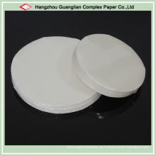 Papel de pergamino tratado de silicona a prueba de grasa en tamaño OEM