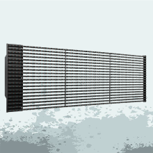 P25 Outdoor led video media facade screens
