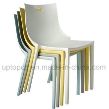 Оптовая красочные Пластиковые Стекируемые стул для ресторана (СП-UC446)