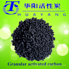 Filtro de água de carbono activado em coluna, de base carbonada