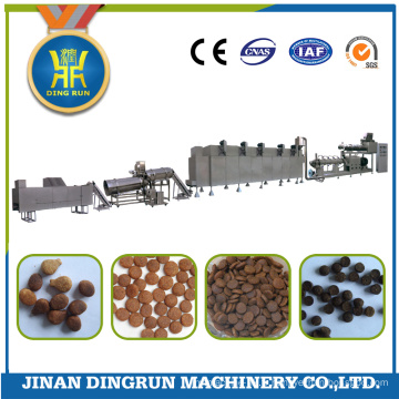 machine de fabrication d'aliments pour chiens secs de grande capacité