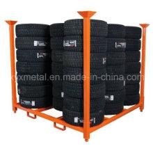 Warehouse Metallaufbewahrung Stapelbarer Reifengestell