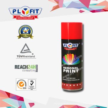 pintura para automóviles de pintura en aerosol de aerosol de acrílico