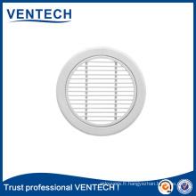 Grille d'air linéaire ronde de Ventech pour le système de la CAHT