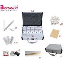 Microblading Augenbrauen Practice Kit Permanent Make up manuelle Stift Augenbraue Tattoo, Microblading Pigment