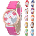 2016 New Design Busniess Women Leather Wristwatch
