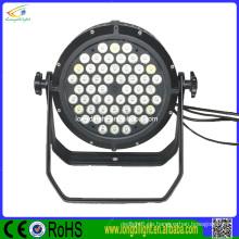 Wasserdicht geführtes par 54 * 3w par kann rgbw LED par 64 geführtes Licht / geführtes par 54 * 3w rgbw im Freienbeleuchtung