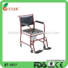 Cadeira de comodo em aço