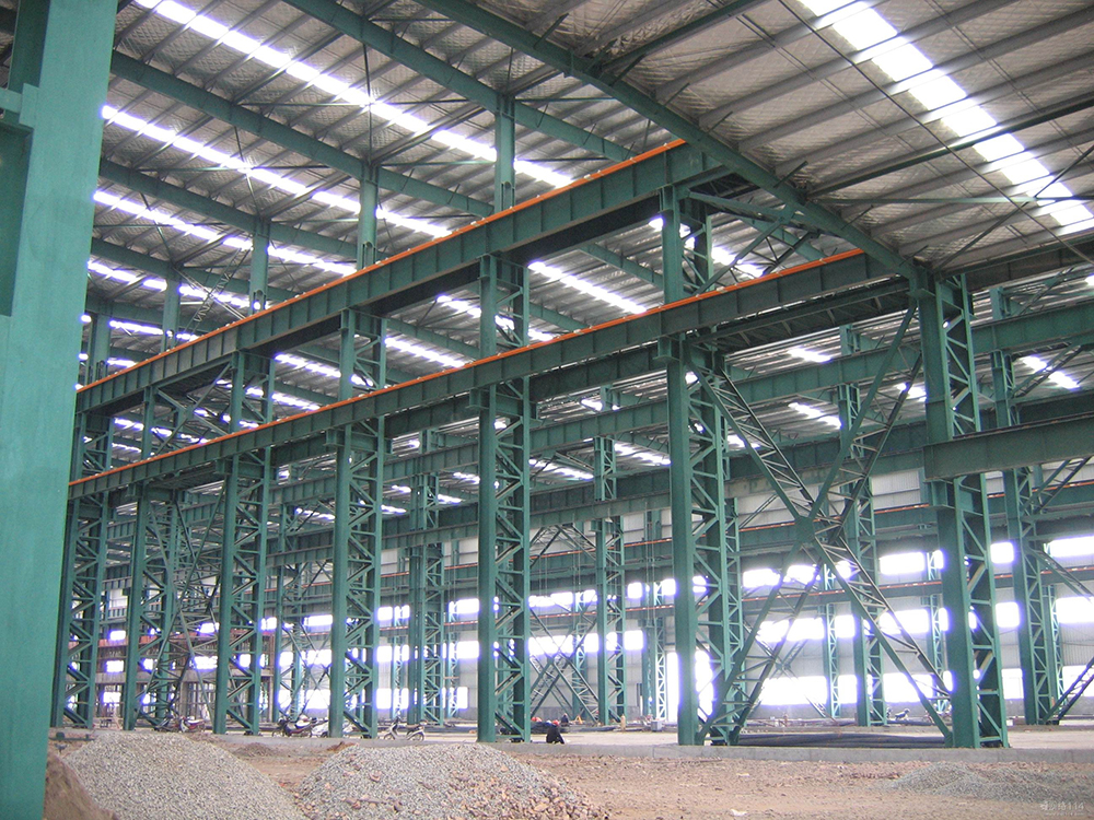 Warehouse Structure Building