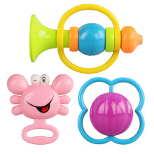 ABS Plastic Shantou Toys Baby Rattle for Promotion