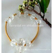 2014 perles de rondelle lumineuses imitation en gros, perles de rondelle, perles