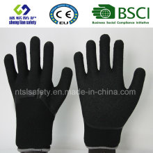 Double Liner Coated Winter Work Glove