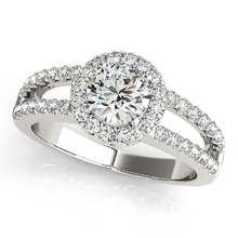 Engagement Rings in 925 Sterling Silver Jewelry with Cubic Zircon