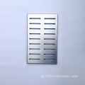 Halaman Air Dekoratif Stainless Steel Drain Cover