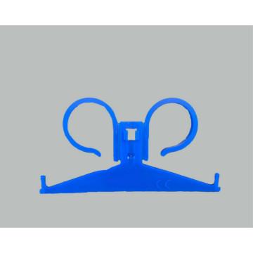 Hospital grade medical bag hanger hook