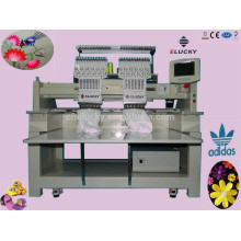 High quality 9 needles snapback hat /t-shirt embroidery machine with 2 heads