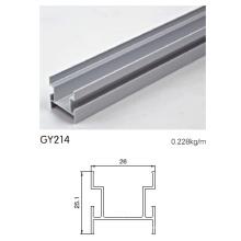 Eloxiertes Aluminium H Spur für Schrank Tür