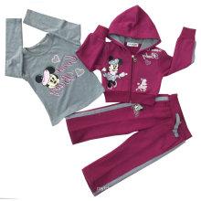 Sudaderas con capucha de la niña, sudaderas con capucha de los niños en la ropa de los niños (SWG-110)