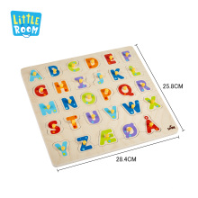 3D Jigsaw Educational Puzzle Toy Fsc Wood Matching Alphabet Wooden