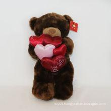 Plush Faux Fur Love Bears