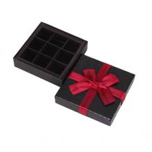Small Matte Black Paper Gift Box