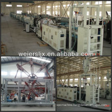 pe pipe extrusion line for water and gas supplying