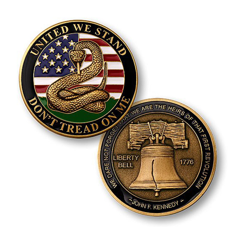 Liberty Bell Challenge Coin