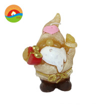 Old man shaped art christmas candle custom scented candle making wax