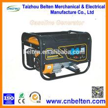 Générateur d'essence portatif de 2,5 KW Générateur de puissance mini génératrice silencieuse avec moteur à essence 168F