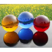 Boule en verre de haute qualité, boule en verre en cristal, sphère en verre