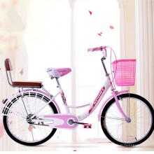 Bicicleta popular para rua na China, para senhoras, bicicleta rosa para venda