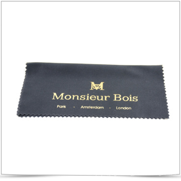 Quality Microfiber Polishing Cloth with Gold Stamping