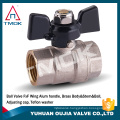 TMOK gas,water,oil Media forged NPT full port brass ball valve with private label on handle CSA FM UL IAPMO