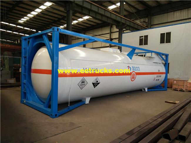 20ft HCl Tank Storage Containers