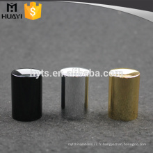 bouchon en aluminium de couleur différente