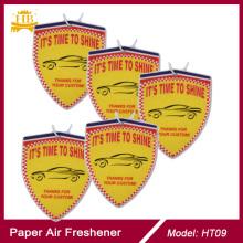 Absorbant хлопок бумаги 2 мм толщиной Apple аромат автомобиля духи & освежитель воздуха