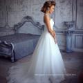 Элегантные линии кружева 2016 для новобрачных платья (SL308-1)
