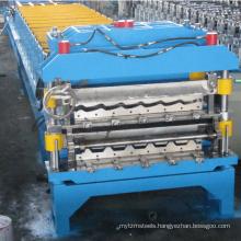 trapezoid galvanize aluminium iron roofing sheet roll forming making machine
