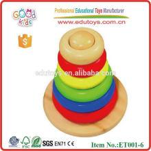 Brand New Rainbow Jenga Jouets en bois Block Game Toy