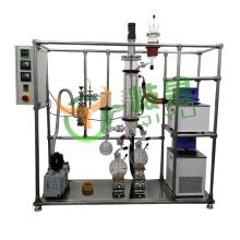 Wiped Film Essential Oil Extraction Short Path Molecular Distillation Equipment