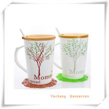 Regalo de la promoción de café taza/taza de café con asa Ha08001