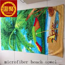 diferentes toallas de playa de diseño impreso / toallas de playa velour / toallas de playa de microfibra