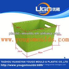 Zhejiang taizhou huangyan moule conteneur de peinture et 2013 nouvelle boîte ménagère outil d'injection d'injection mouldyougo moule