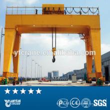 Carretilla eléctrica elevación grúa de pórtico, móviles grúa de doble viga de 50 toneladas