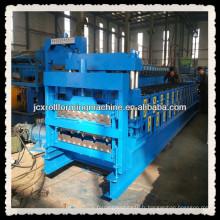 JCX840 et 900-B1, carrelage glacé et machine de formage de rouleaux de feuilles de toit à double couche IBR