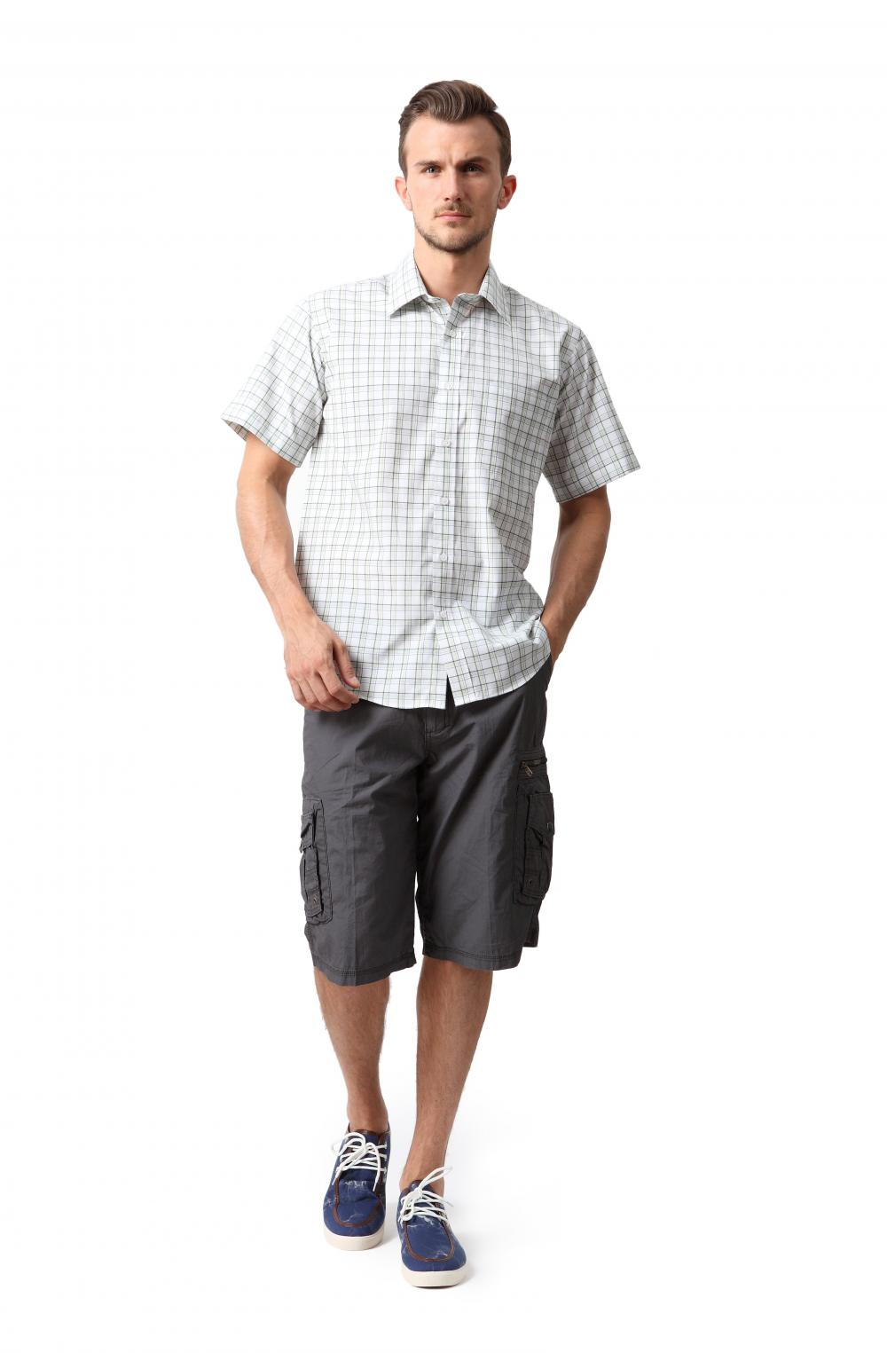 Men's pockets cargo shorts