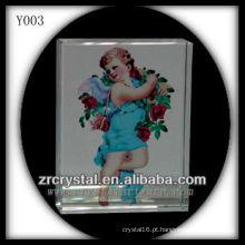 Cristal de impressão colorido religiosoRetrato Y003