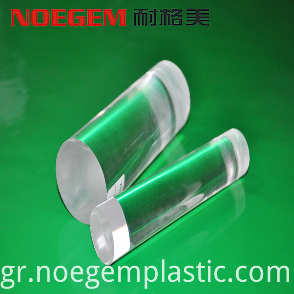 Clear Pmma Plastic Rod