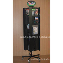 Floor Rotating Pegboard Display Stand (PHY11-207)